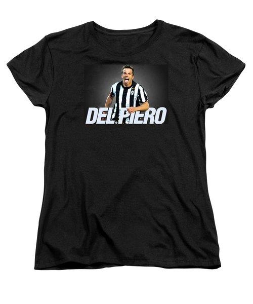 Del Piero Women's T-Shirt (Standard Cut) by Semih Yurdabak