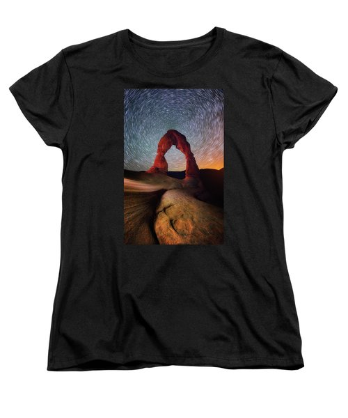 Women's T-Shirt (Standard Cut) featuring the photograph Delicate Spin by Darren White