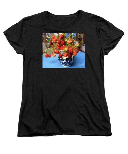 Delicate Women's T-Shirt (Standard Cut) by Vicky Tarcau