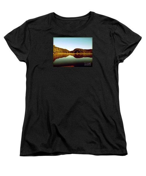 Denholm Lake Women's T-Shirt (Standard Cut) by France Laliberte