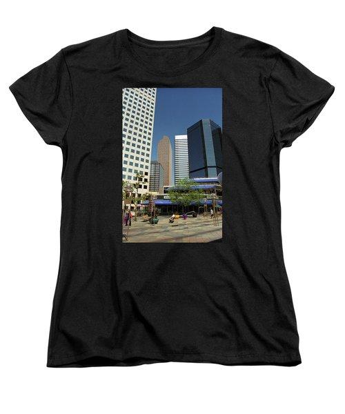 Denver Architecture Women's T-Shirt (Standard Cut) by Frank Romeo
