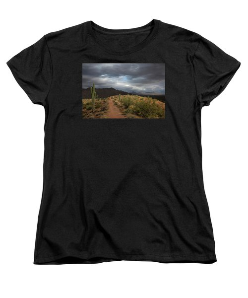 Desert Light And Beauty Women's T-Shirt (Standard Cut) by Sue Cullumber