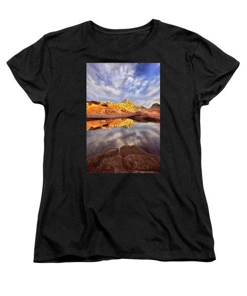 Desert Rock Drama Women's T-Shirt (Standard Cut) by Nicki Frates