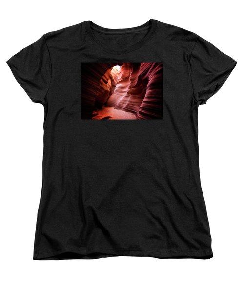 Desert Southwest Underworld Women's T-Shirt (Standard Cut) by Nicki Frates