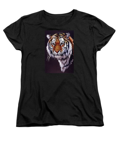Women's T-Shirt (Standard Cut) featuring the drawing Desperado by Barbara Keith