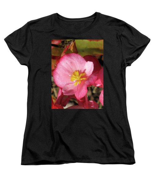 Dew Touched Women's T-Shirt (Standard Cut) by Michele Wilson