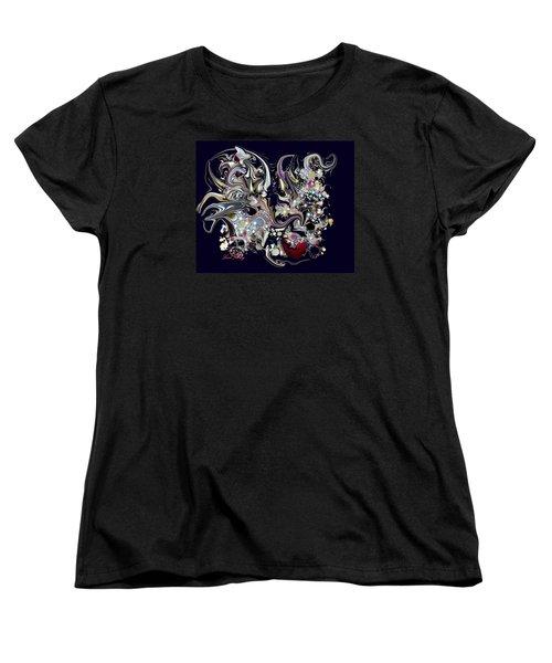 Women's T-Shirt (Standard Cut) featuring the digital art Digitalimage2012c by Loxi Sibley