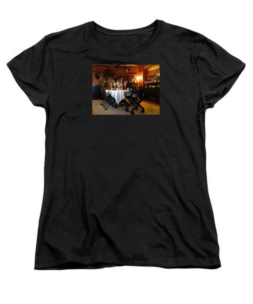 Dining Room Women's T-Shirt (Standard Cut) by Mikki Cucuzzo
