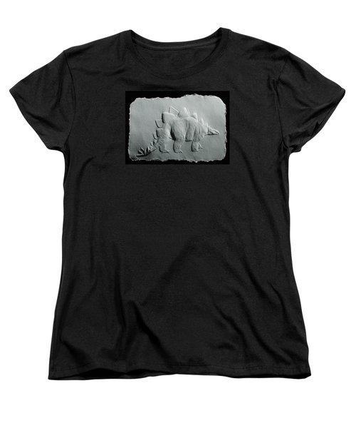 Dinosaur Women's T-Shirt (Standard Cut) by Suhas Tavkar
