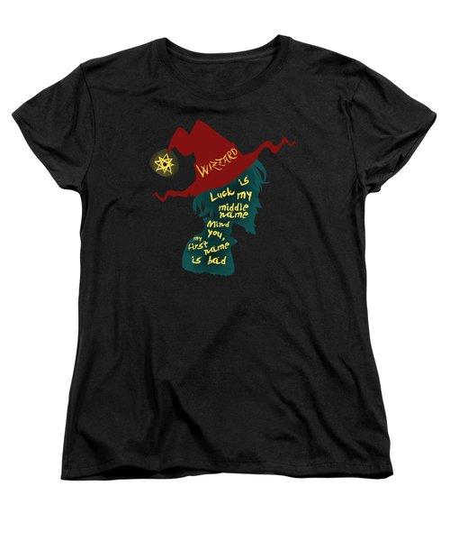 Discworld - Rincewind Women's T-Shirt (Standard Cut) by Sator
