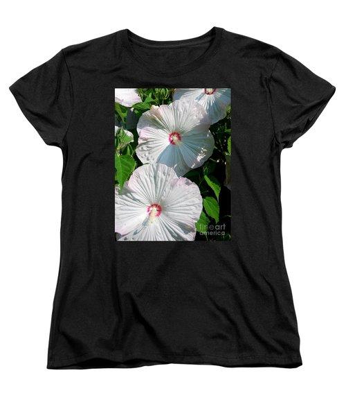 Dish Flower Women's T-Shirt (Standard Cut) by Brian Jones