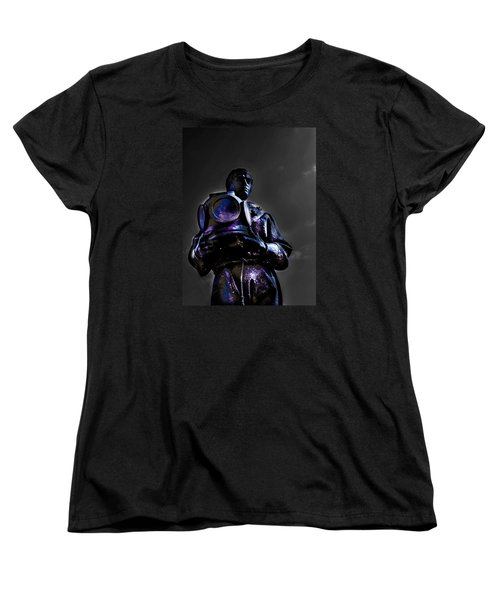Women's T-Shirt (Standard Cut) featuring the photograph Diver by Randy Sylvia