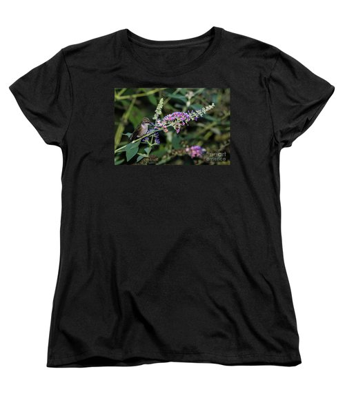 Women's T-Shirt (Standard Cut) featuring the photograph Do You Mind by Judy Wolinsky