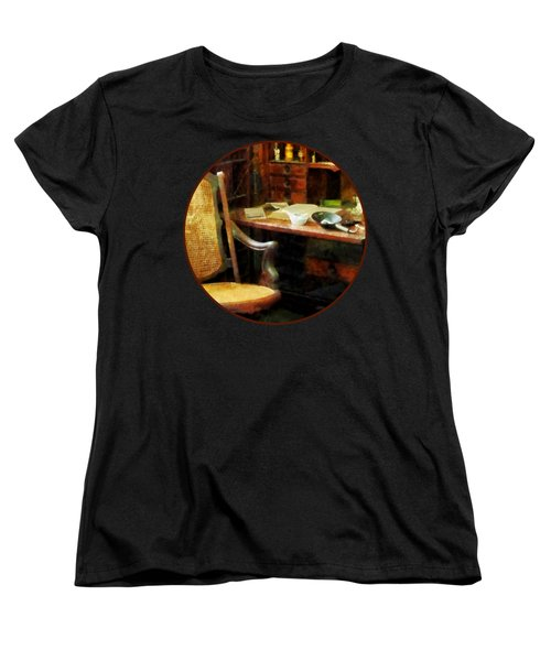 Women's T-Shirt (Standard Cut) featuring the photograph Doctor - Doctor's Office by Susan Savad