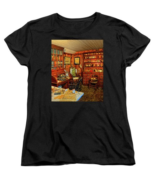 Doctors Office Women's T-Shirt (Standard Cut) by Dave Mills