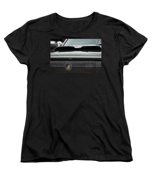 Dodge Charger Hood Women's T-Shirt (Standard Cut) by Dean Ferreira