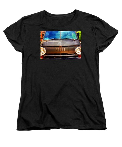 Dodge In Town Women's T-Shirt (Standard Cut) by Olivier Calas