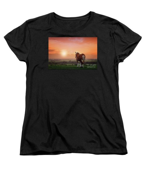 Don't Let The Sun Go Down On Me Women's T-Shirt (Standard Cut) by Tamyra Ayles