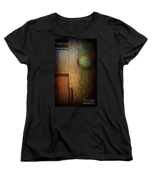 Doorknob Women's T-Shirt (Standard Cut) by Debra Fedchin