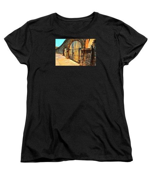 Dos Puertas Vibrantes Women's T-Shirt (Standard Cut)