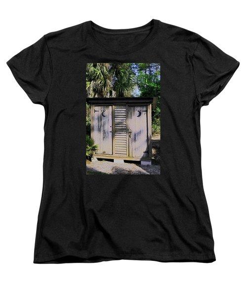 Double Duty Women's T-Shirt (Standard Cut) by Sally Weigand