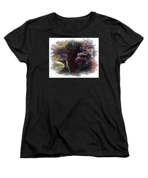 Down In The Valley Women's T-Shirt (Standard Cut) by Angela L Walker