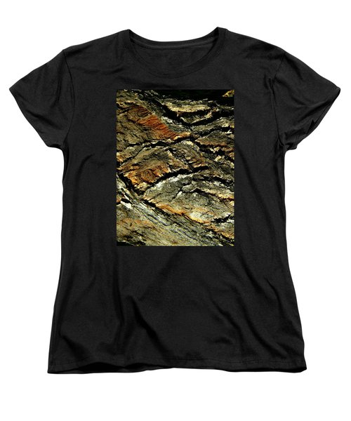 Women's T-Shirt (Standard Cut) featuring the photograph Down In The Valley by Lenore Senior