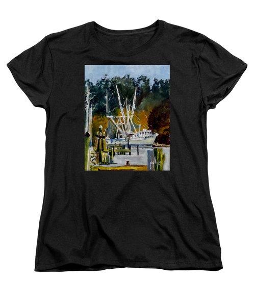 Downtown Parking Women's T-Shirt (Standard Cut) by Jim Phillips