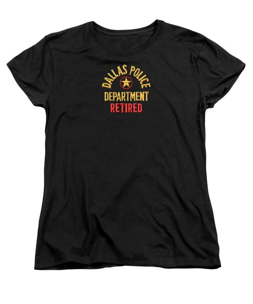 Dpd Shoulder Patch - Retired T-shirt Women's T-Shirt (Standard Cut) by Robert J Sadler