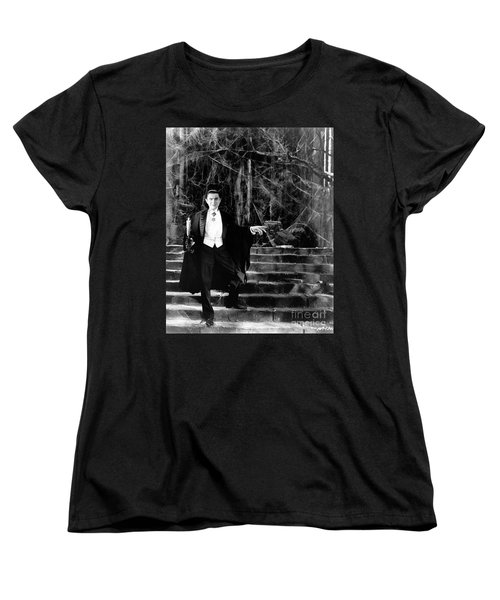 Dracula Women's T-Shirt (Standard Cut) by R Muirhead Art