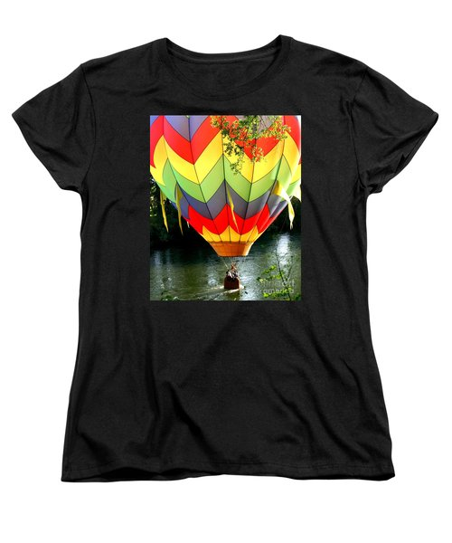 Dragging The Water   Line Women's T-Shirt (Standard Cut) by Marie Neder