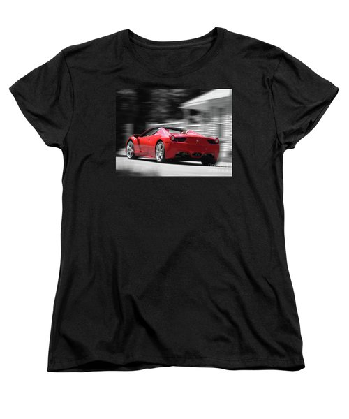 Dream Car Women's T-Shirt (Standard Cut) by Susan Lafleur