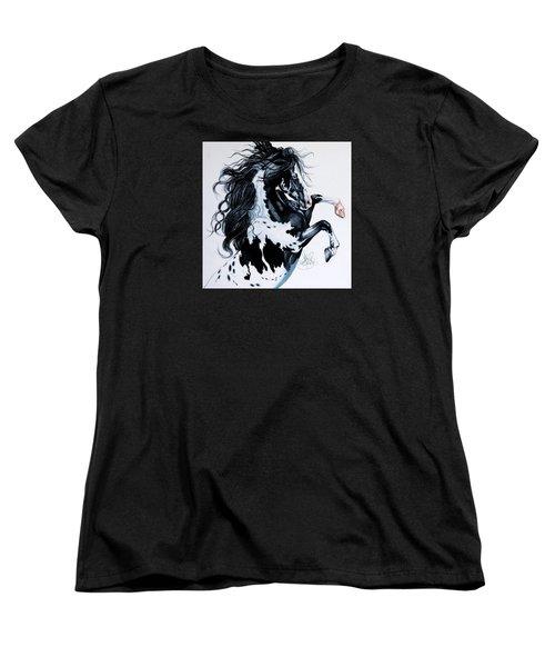 Dream Horse Series #2001 Women's T-Shirt (Standard Cut) by Cheryl Poland