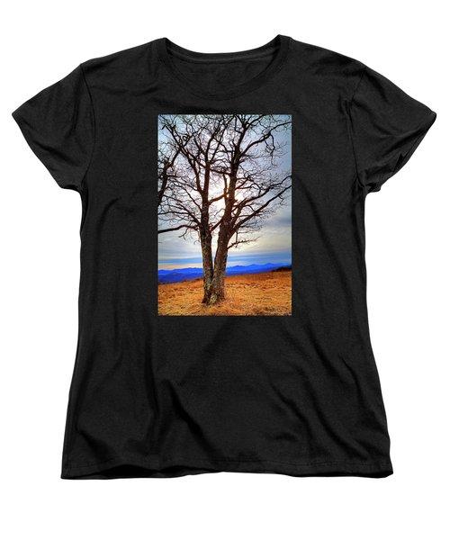 Dreamcatcher Women's T-Shirt (Standard Cut) by Dale R Carlson