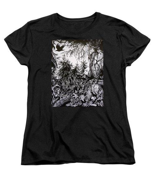 Dreaming Alaska.part One Women's T-Shirt (Standard Cut) by Anna  Duyunova