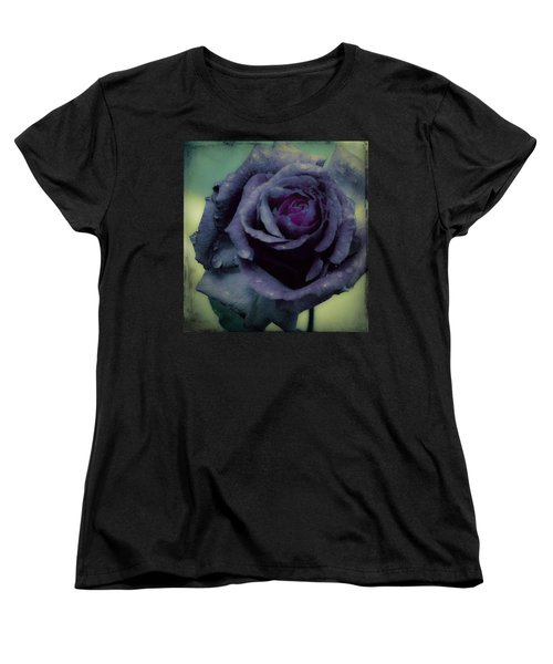 Women's T-Shirt (Standard Cut) featuring the photograph Dreaming Of Roses by Cathy Donohoue