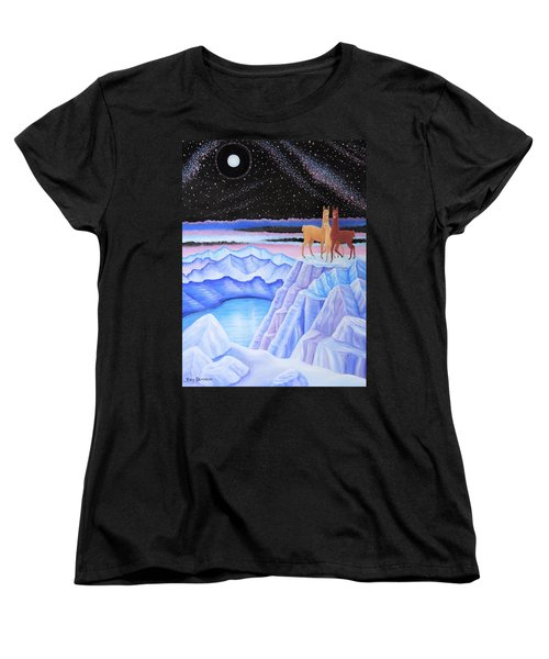 Dreamscape Women's T-Shirt (Standard Cut) by Tracy Dennison