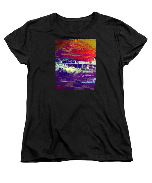 Dreamship Women's T-Shirt (Standard Cut) by Alika Kumar
