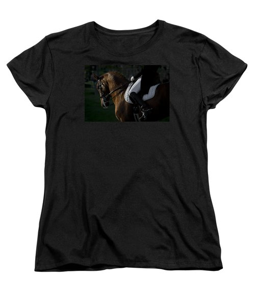 Dressage Women's T-Shirt (Standard Cut) by Wes and Dotty Weber