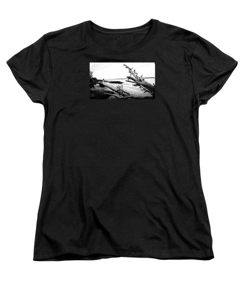 Women's T-Shirt (Standard Cut) featuring the painting Drift  by Amy Sorrell
