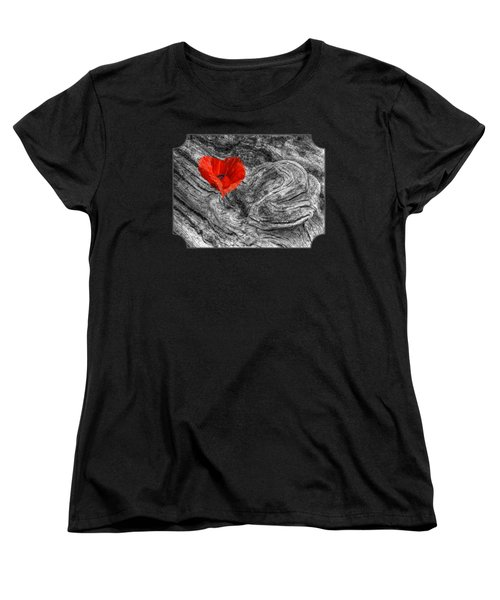 Drifting - Love Merging Women's T-Shirt (Standard Cut) by Gill Billington