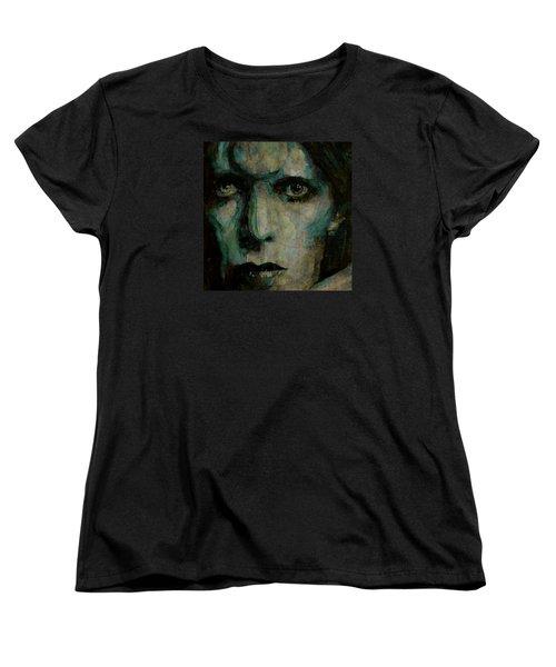 Drive In Saturday@ 2 Women's T-Shirt (Standard Cut) by Paul Lovering