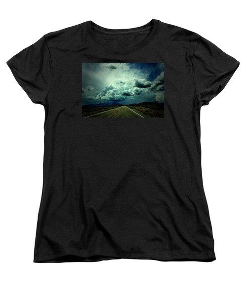 Drive On Women's T-Shirt (Standard Cut) by Mark Ross