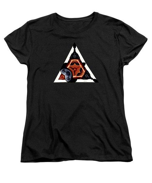 Driverless Car Women's T-Shirt (Standard Cut) by Rafael Salazar