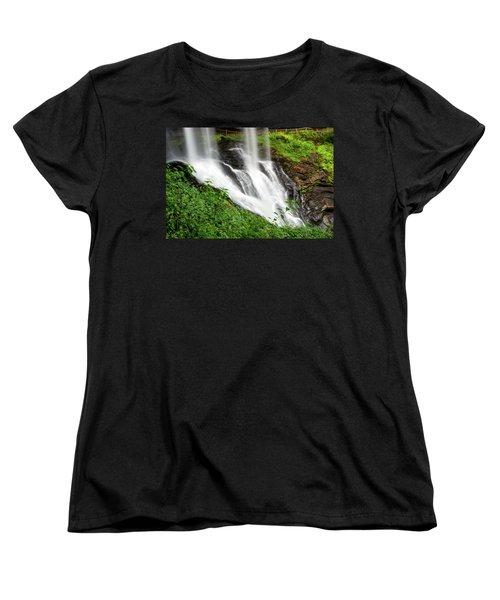 Dry Falls Women's T-Shirt (Standard Cut) by Allen Carroll