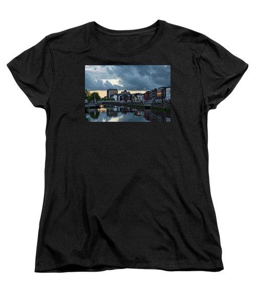 Dublin Sky At Sunset Women's T-Shirt (Standard Cut)