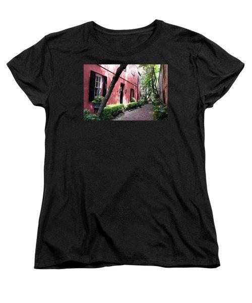 Dueler's Alley Women's T-Shirt (Standard Cut) by Ed Waldrop