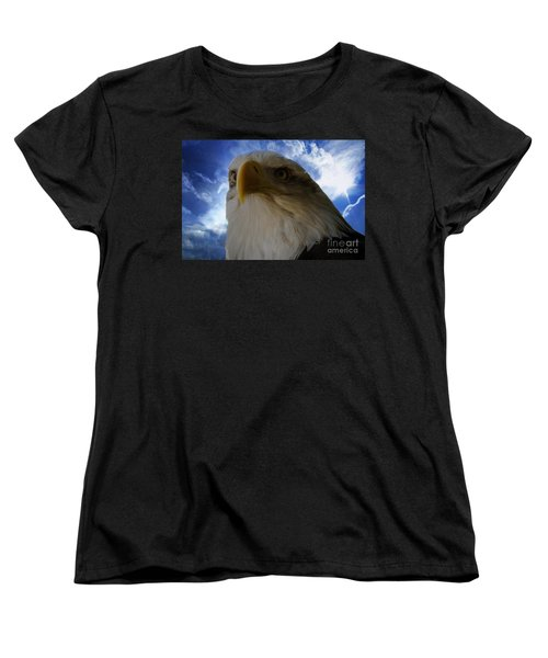 Eagle Women's T-Shirt (Standard Cut) by Sherman Perry