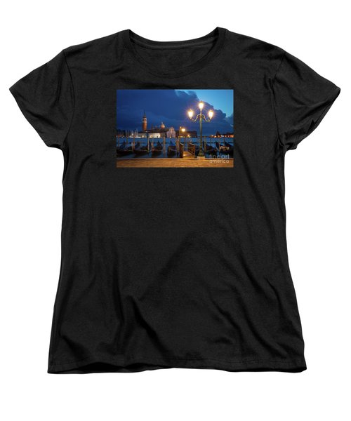 Women's T-Shirt (Standard Cut) featuring the photograph Early Morning In Venice by Brian Jannsen