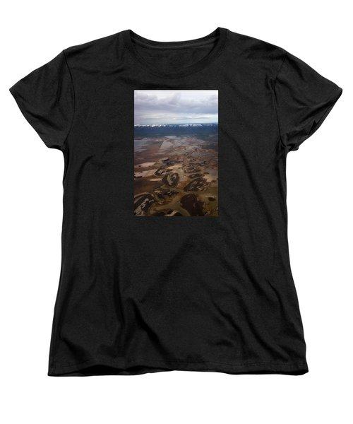 Women's T-Shirt (Standard Cut) featuring the photograph Earth's Kidneys by Ryan Manuel